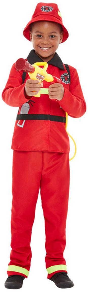 Brandweerman jongens kostuum