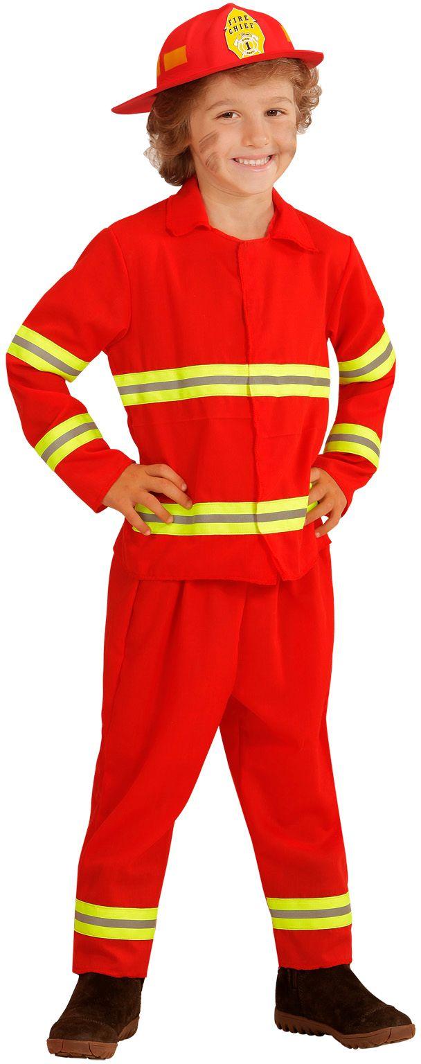 Brandweerman kostuum kind