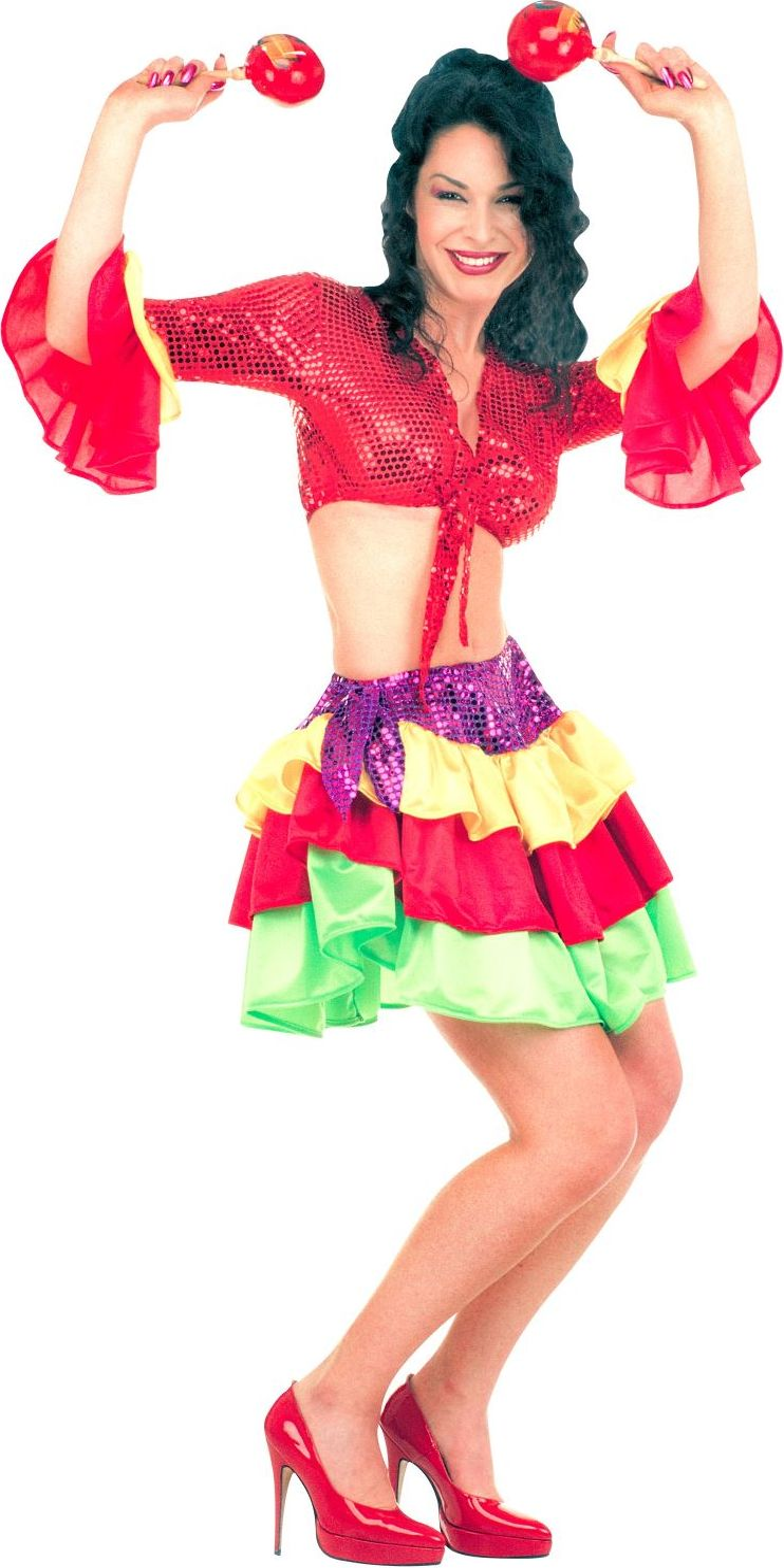 Braziliaanse danseres kostuum