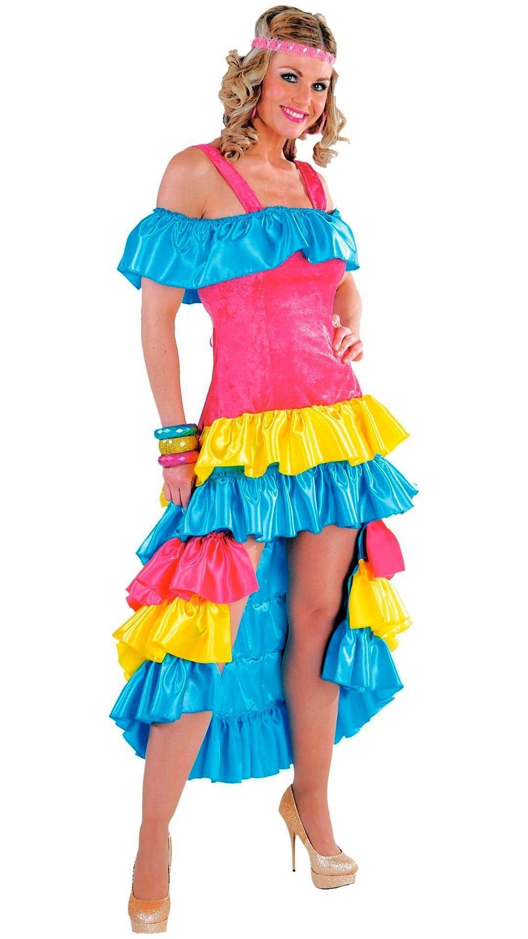 Braziliaanse lange jurk