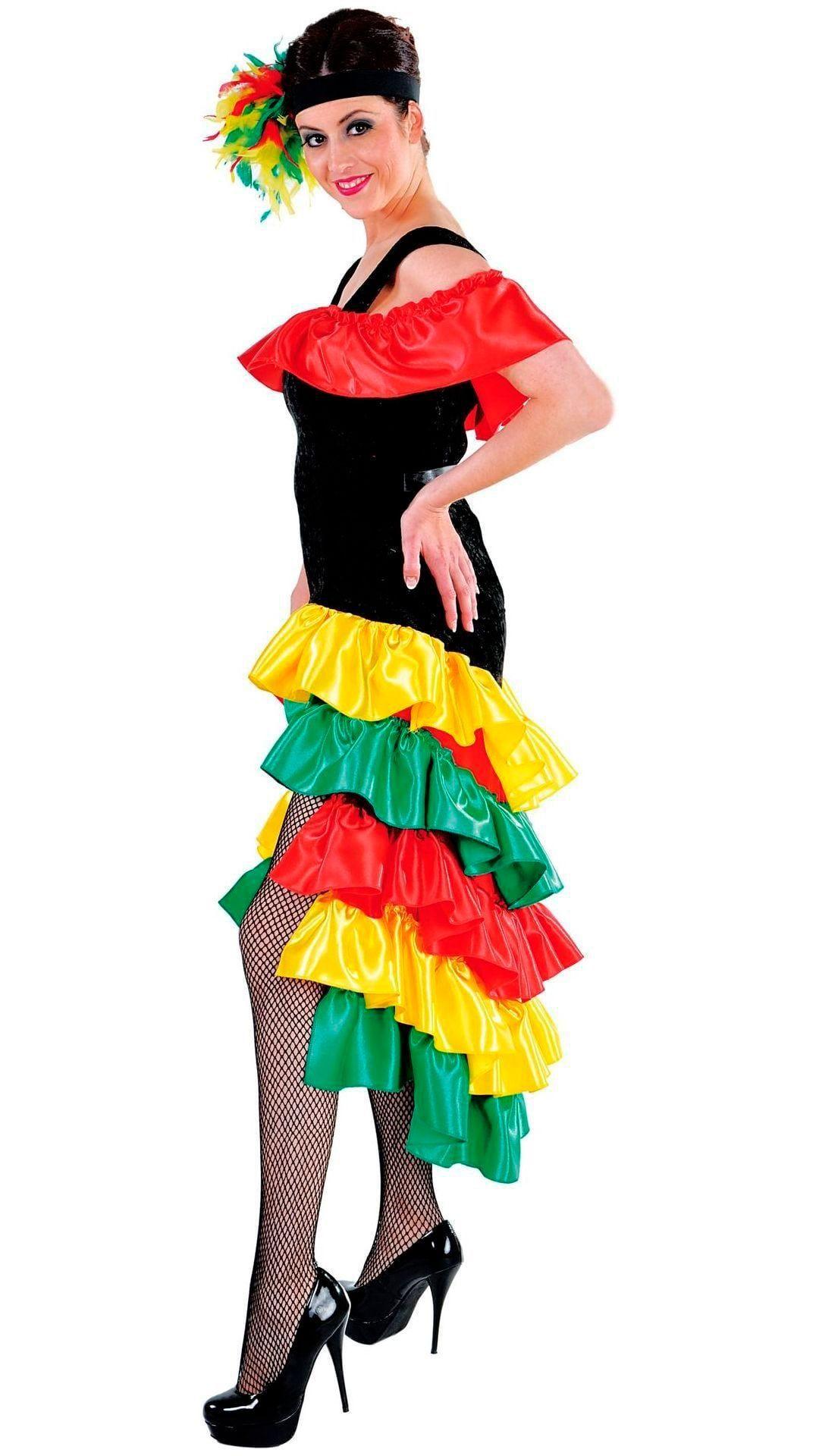Braziliaanse lange jurk dames