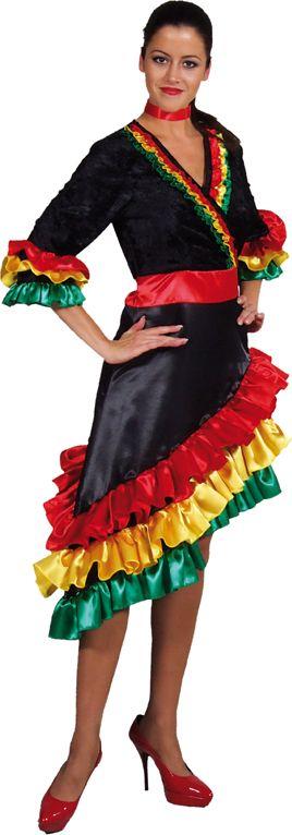 Braziliaanse Rio jurk vrouwen