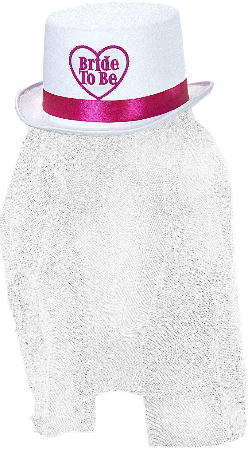 Bride-to-be hoed met sluier