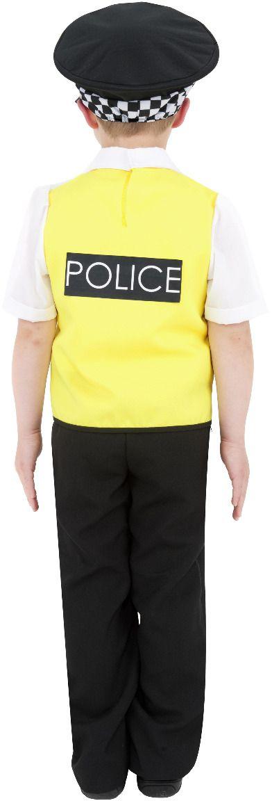 Britse mannen politie kostuum