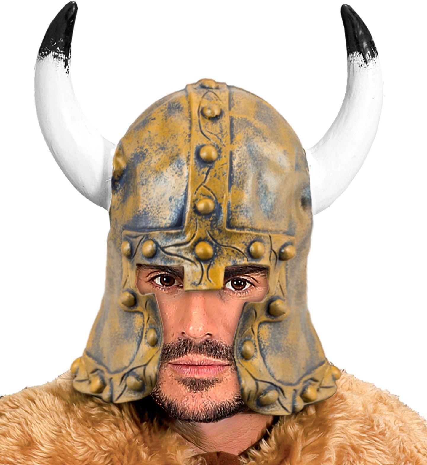 Bronzen barbaar helm