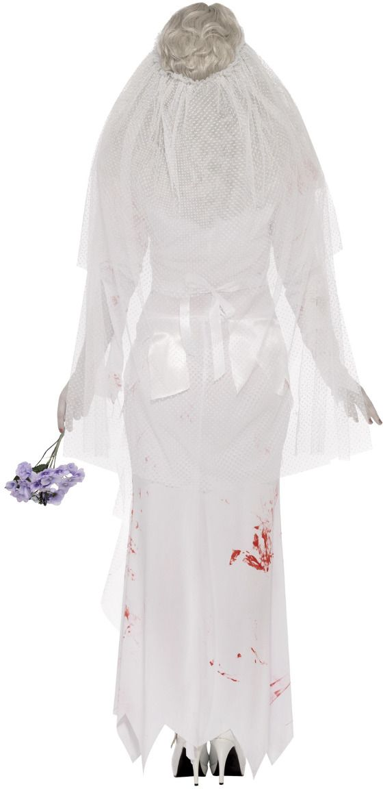 Bruid witte dames kostuum