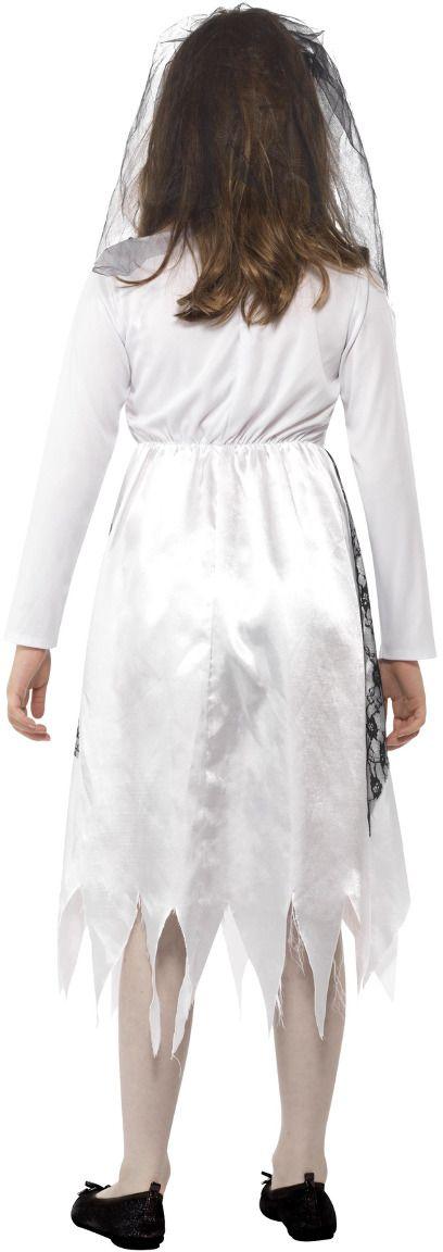 Bruids geest outfit grijs