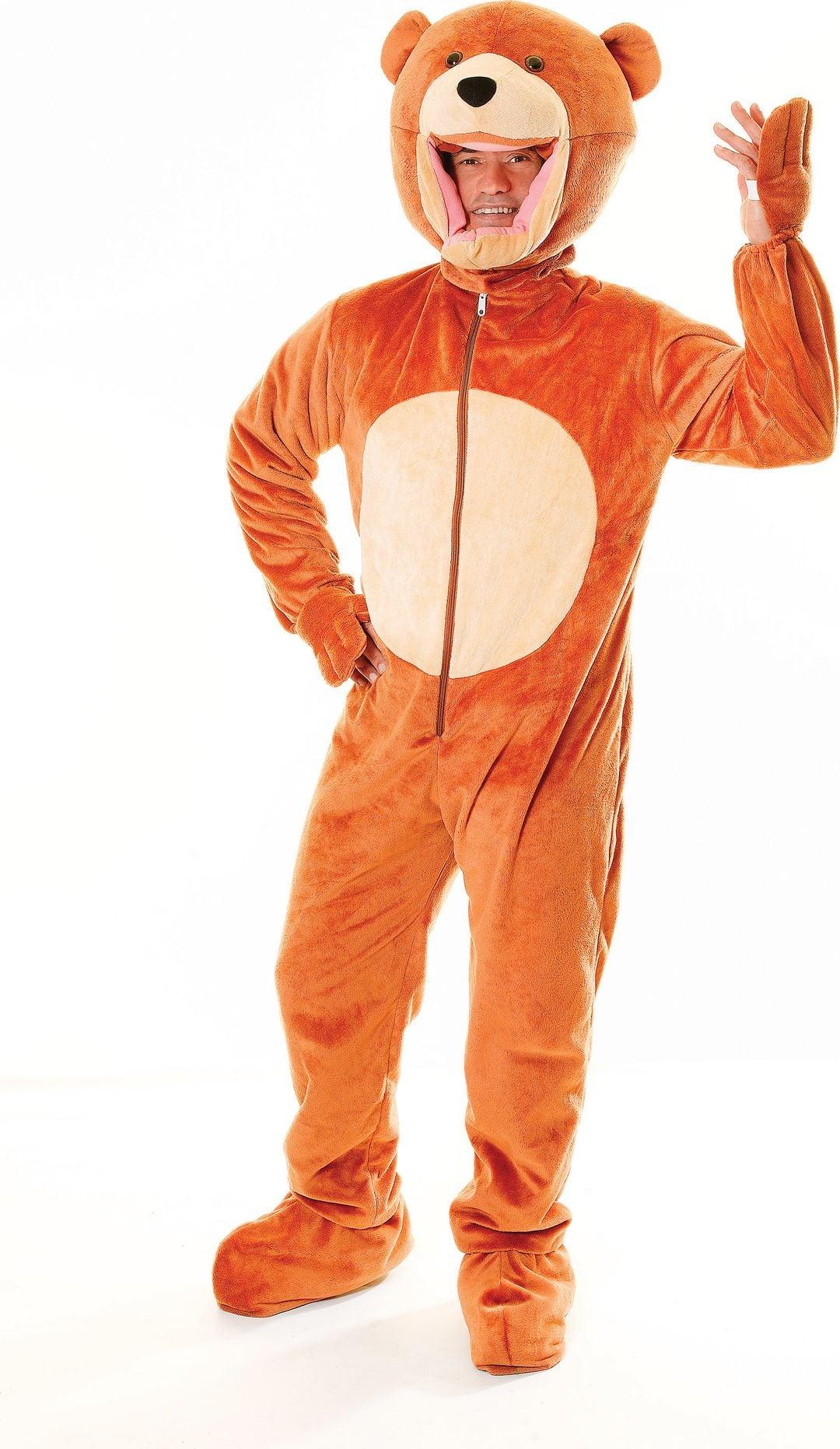 Bruin beren kostuum
