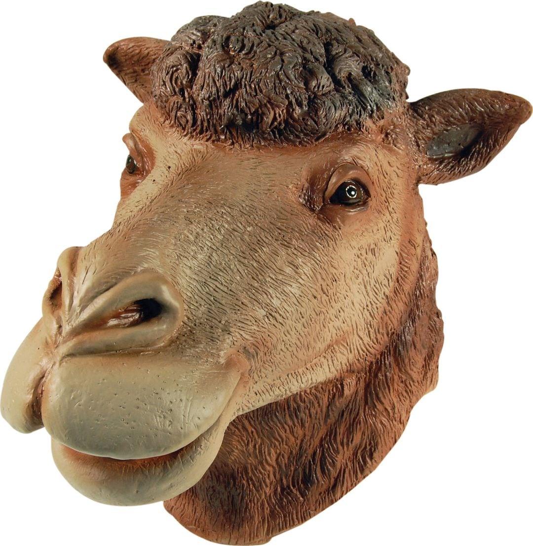 Bruin kamelen masker