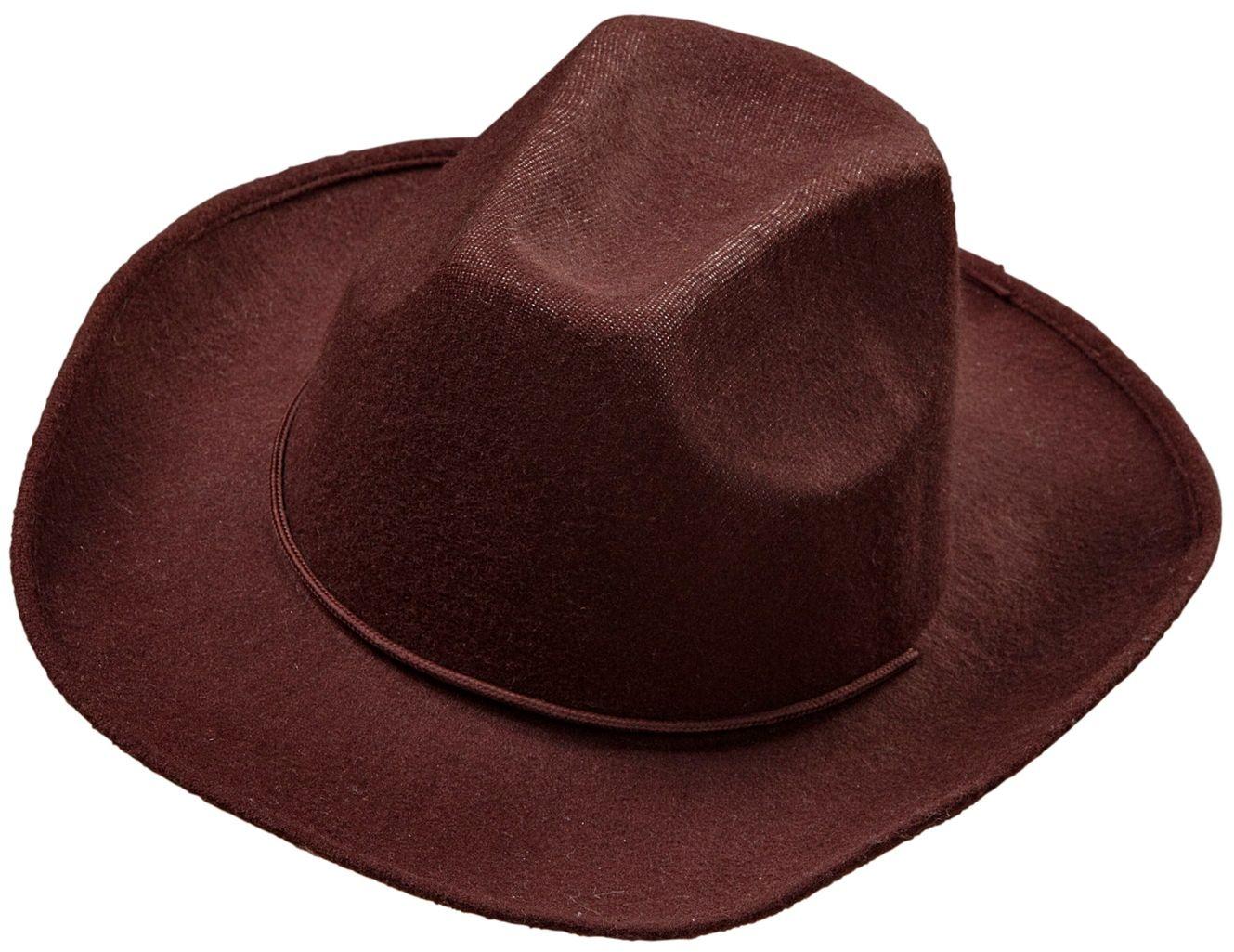 Bruine cowboyhoed
