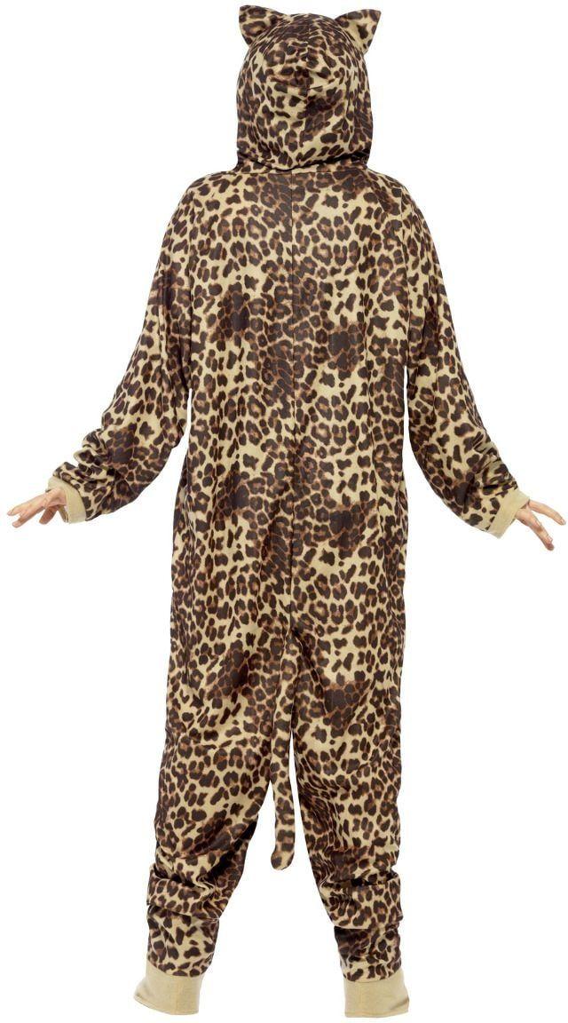 Bruine luipaard onesie