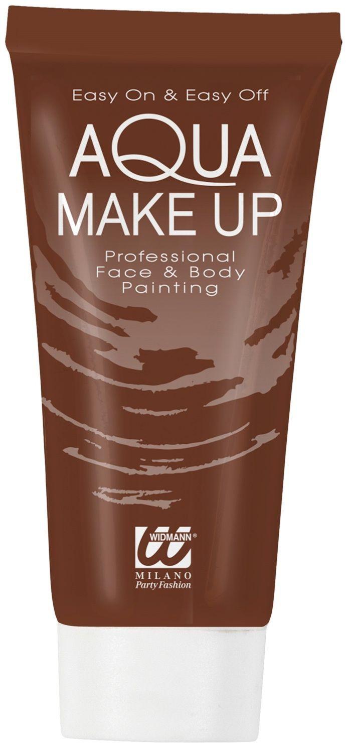 Bruine make-up tube waterbasis
