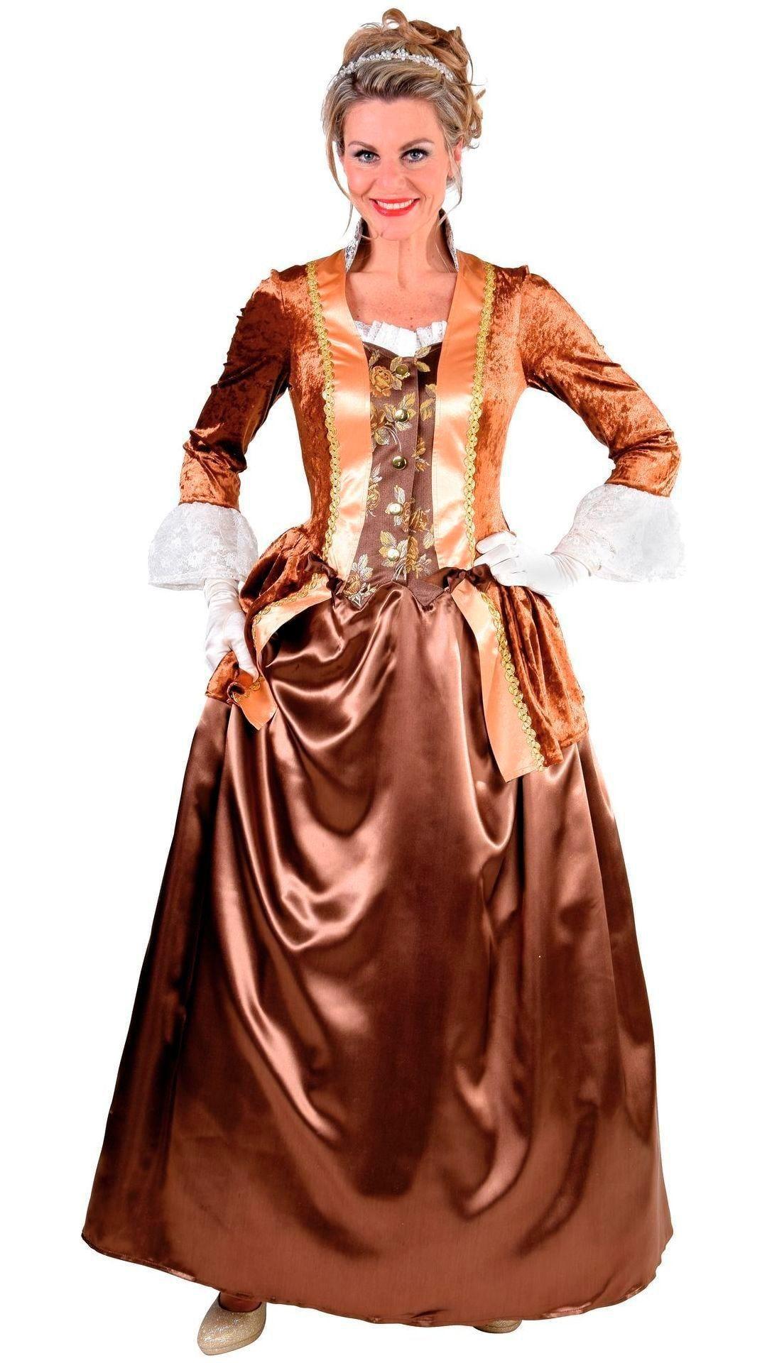 Bruine Markiezin jurk dames