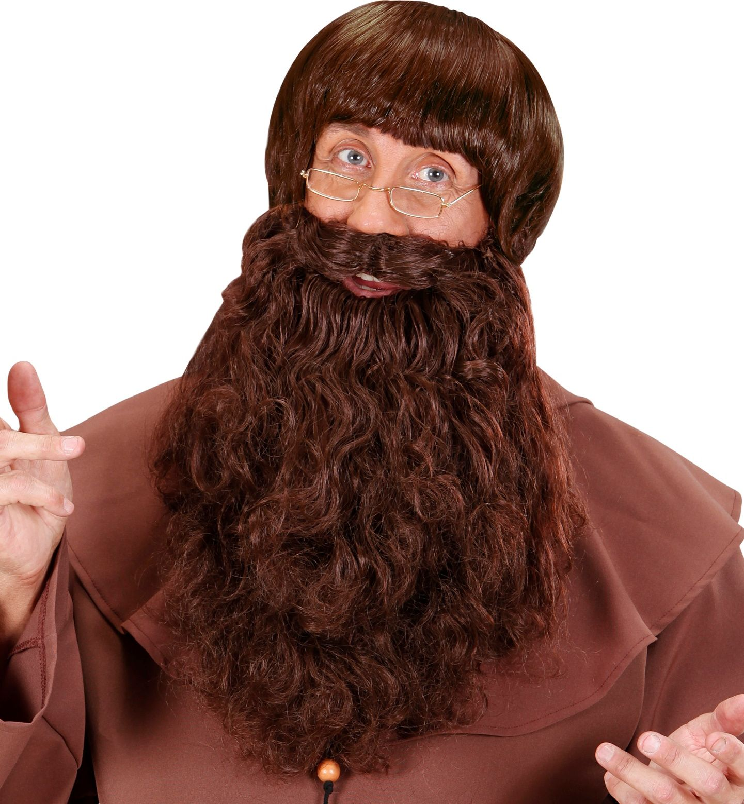 Bruine monnik baard