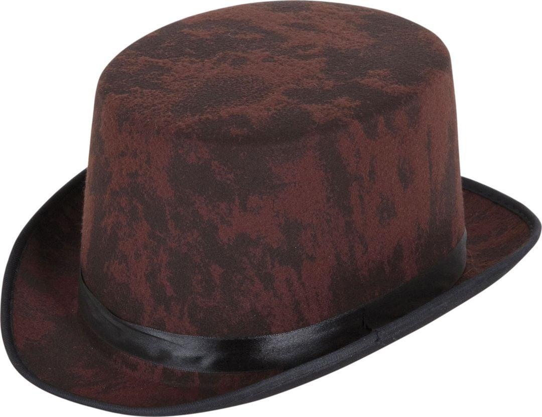 Bruine ouderwetse hoed