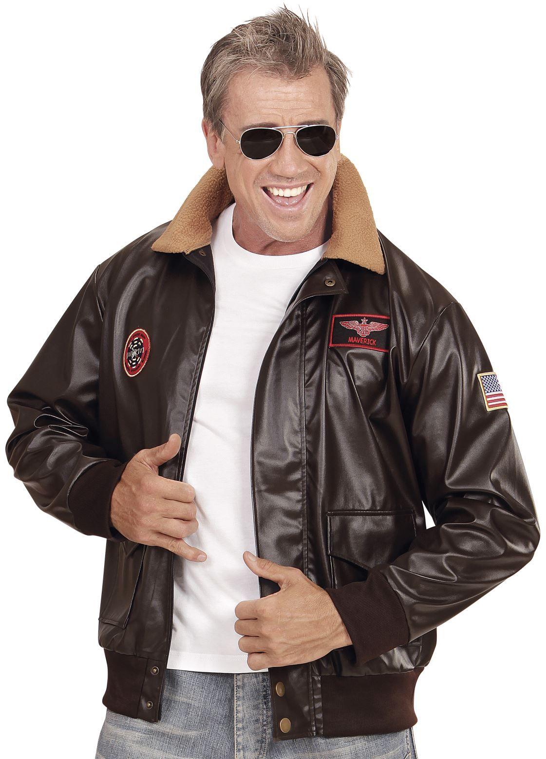 Bruine piloten jas