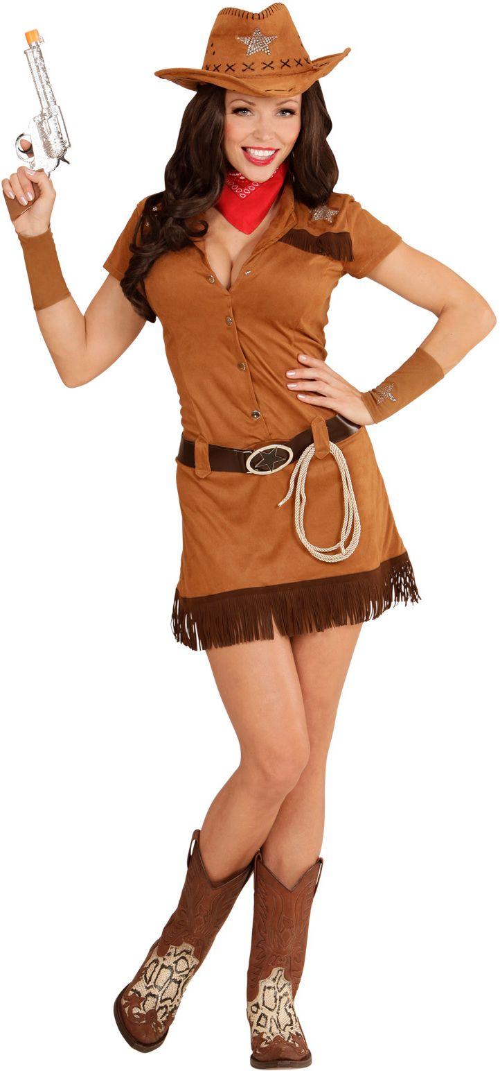 Bruine sheriff vrouw