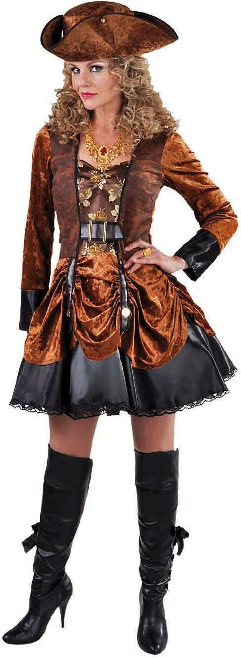 Bruine steampunk jurk dames