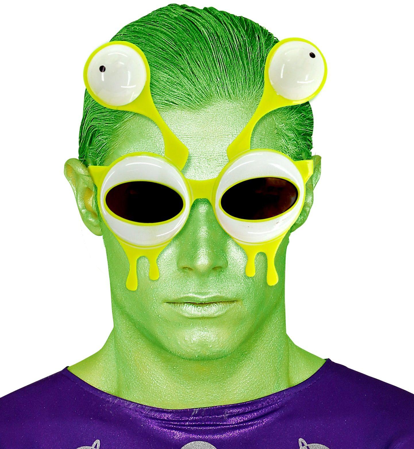 Buitenaards wezen bril