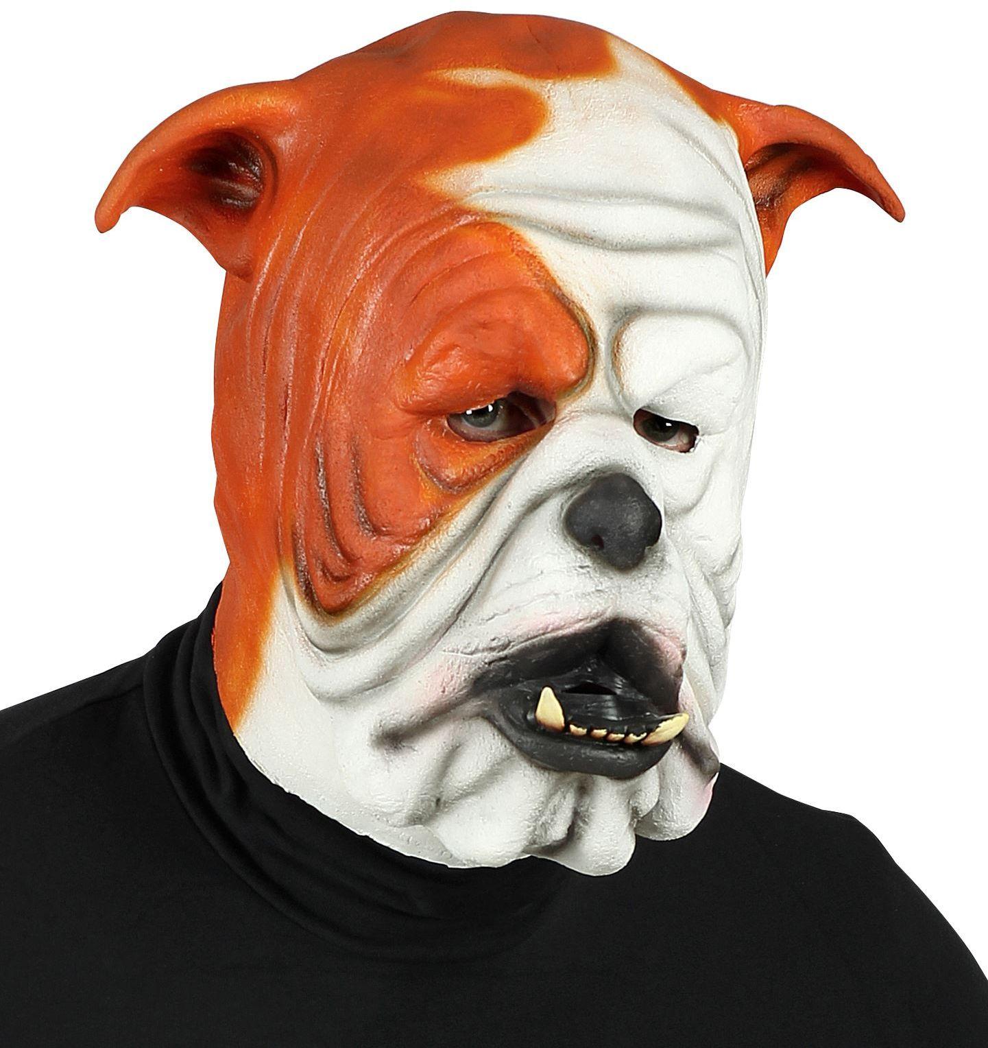 Bulldog gezicht masker