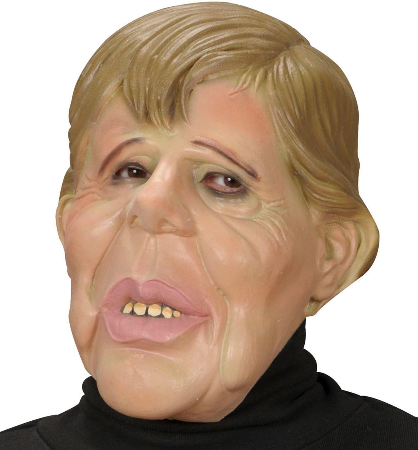 Camilla karikatuur masker