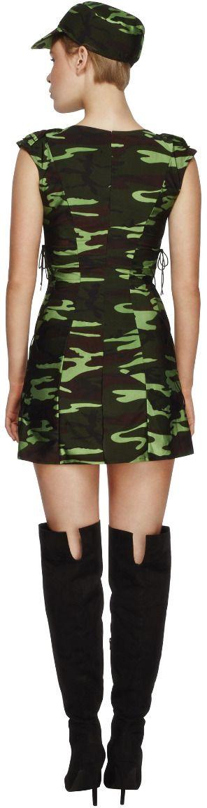 Camouflage dames leger jurkje
