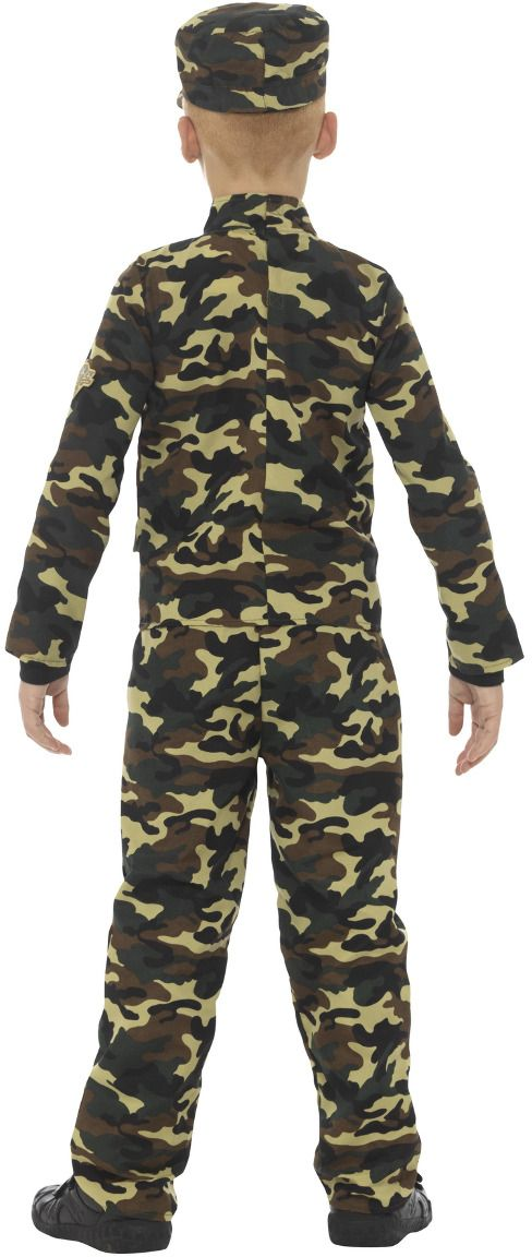 Camouflage leger outfit jongens