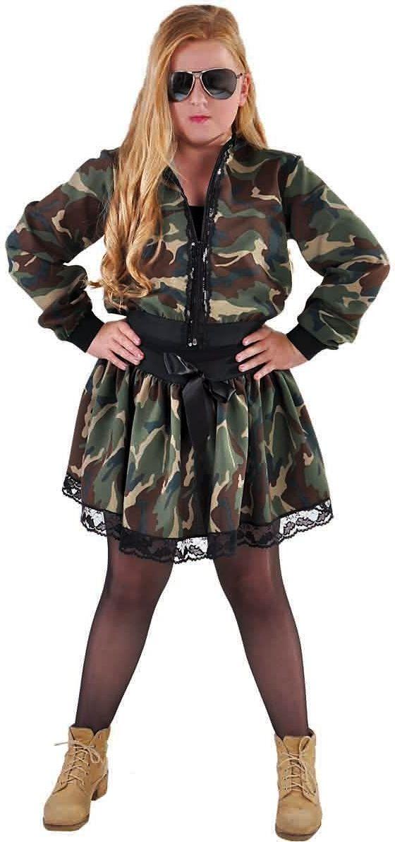 Camouflage rokje meisjes