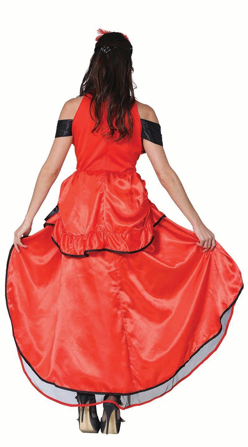 Can-Can jurkje rood