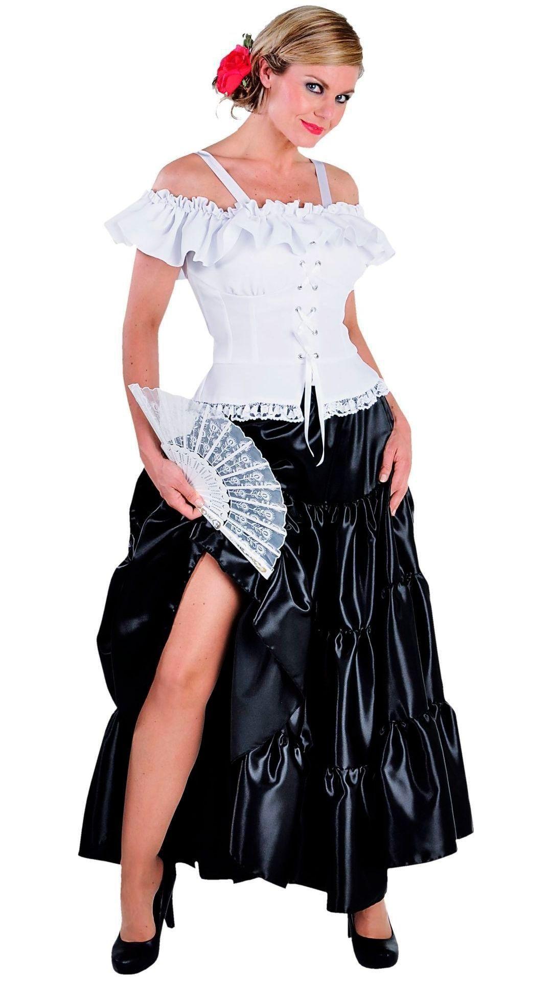Carmen blouse wit dames