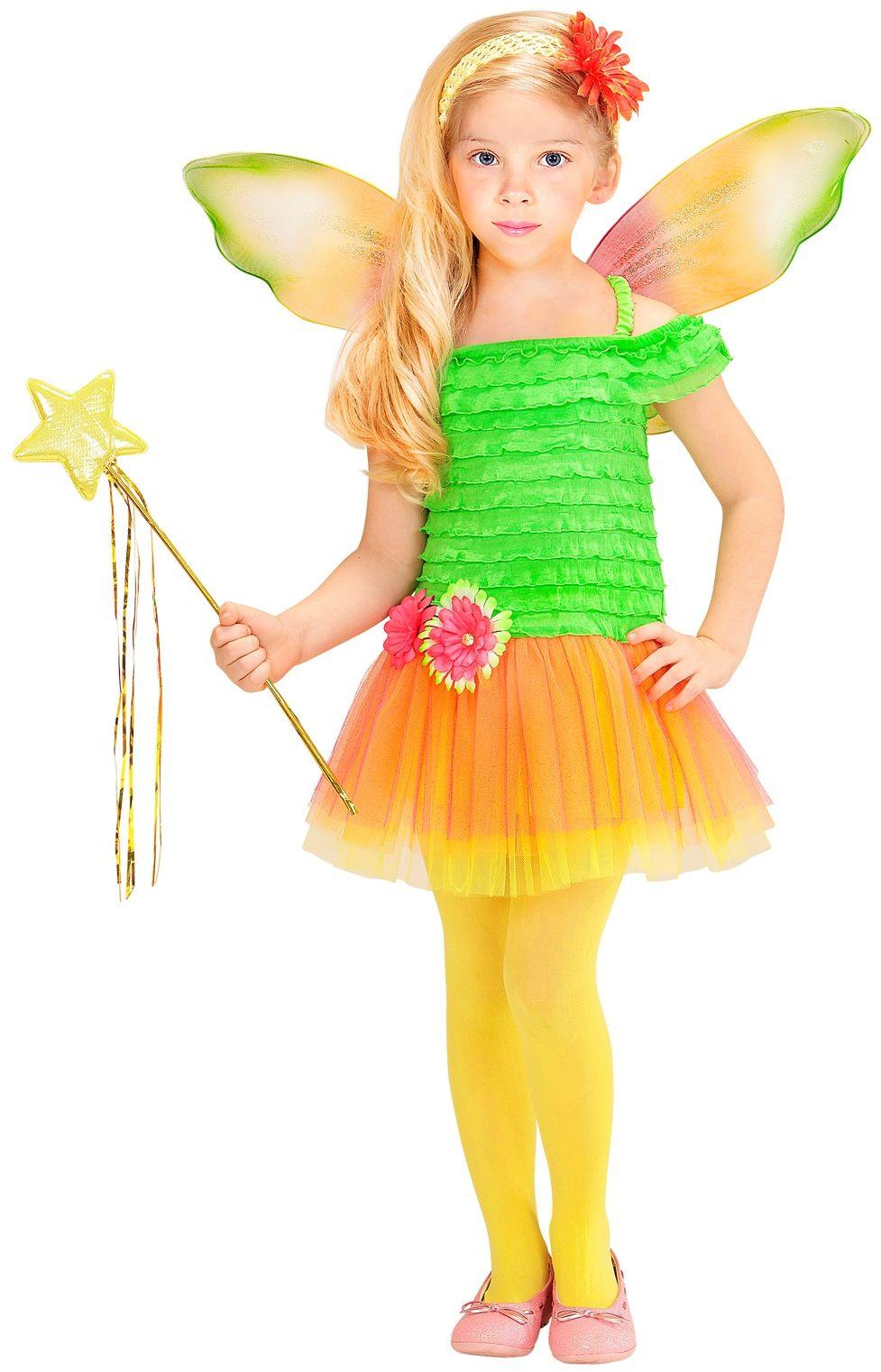 Carnaval fee meisjes groen