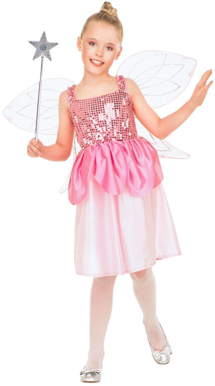 Carnaval fee meisjes roze