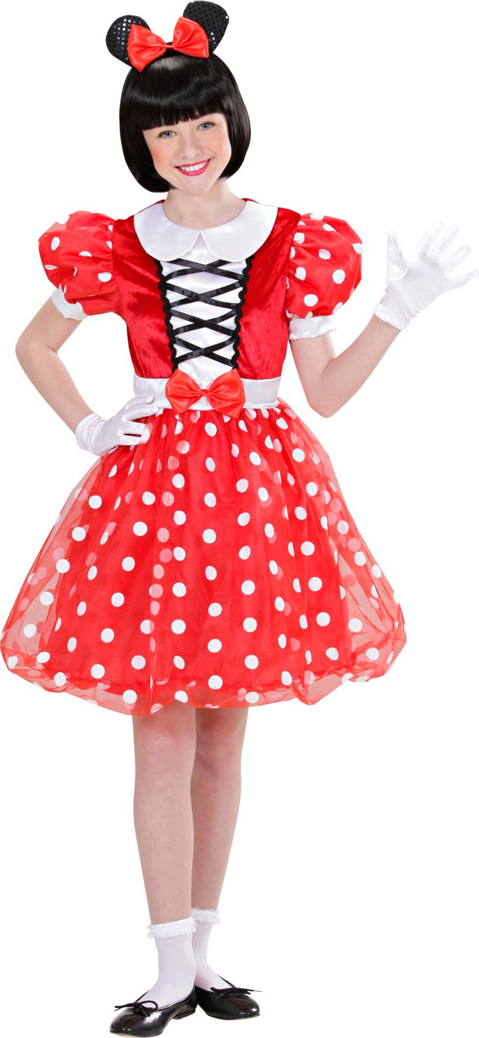 Carnaval Minnie mouse jurk
