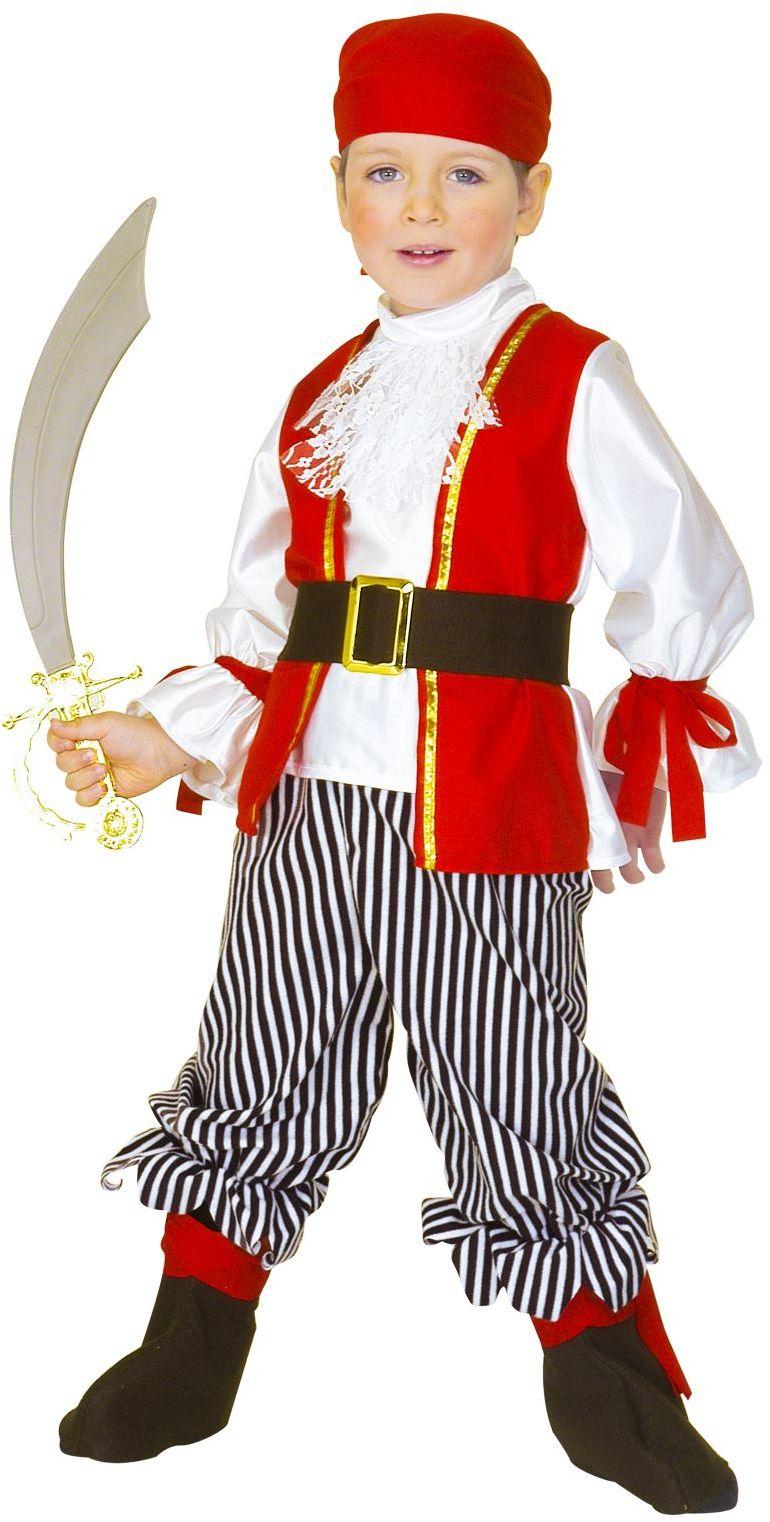 Carnaval piraat kind