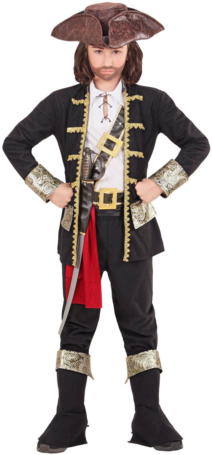 Carnaval piraten pak kind