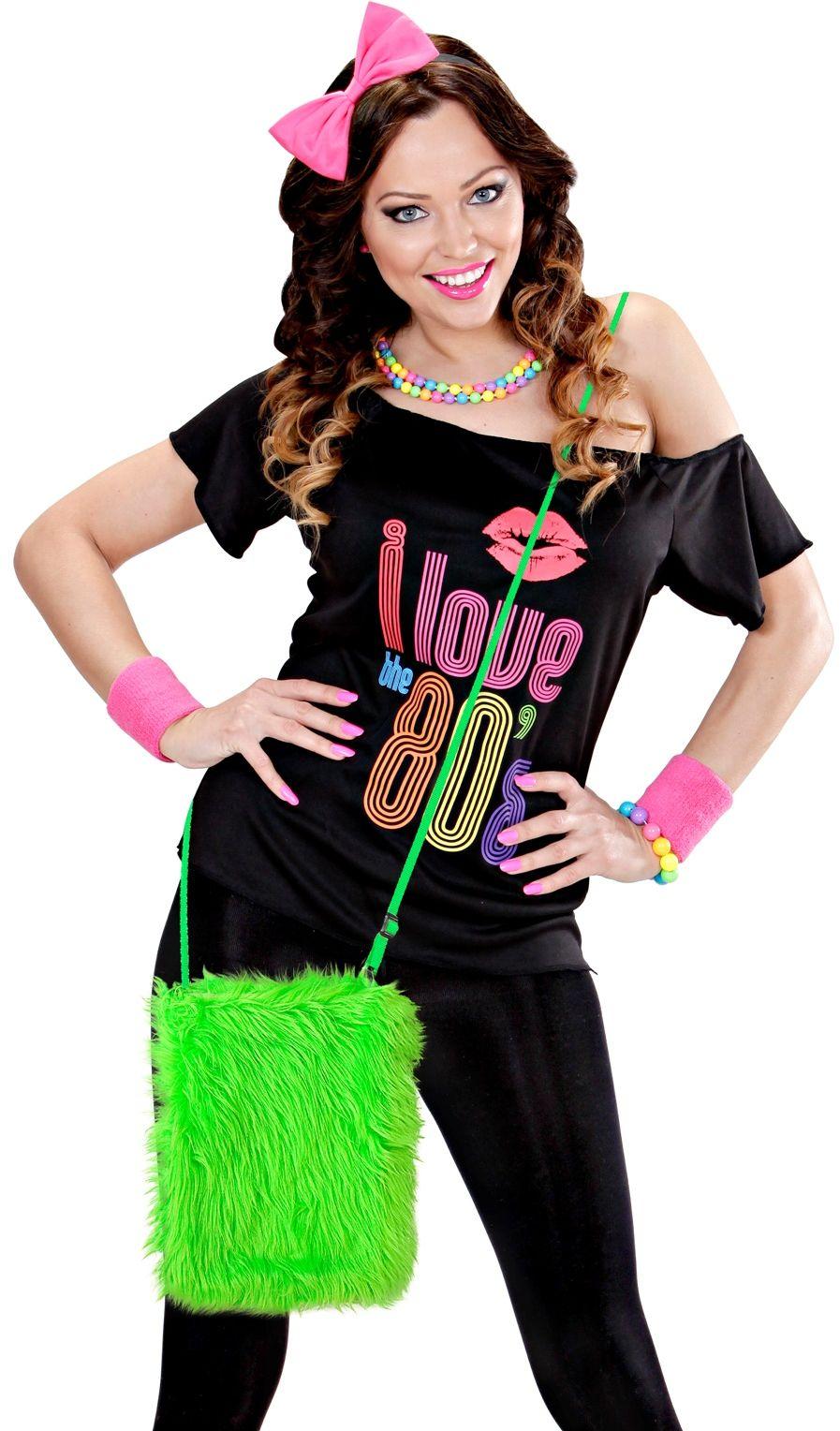 Carnaval schoudertasje groen