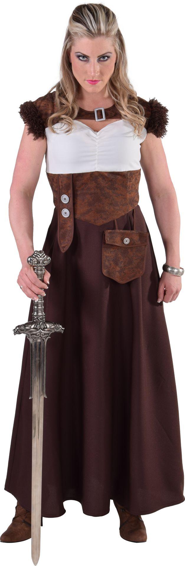 Carnaval vikingen jurk dames