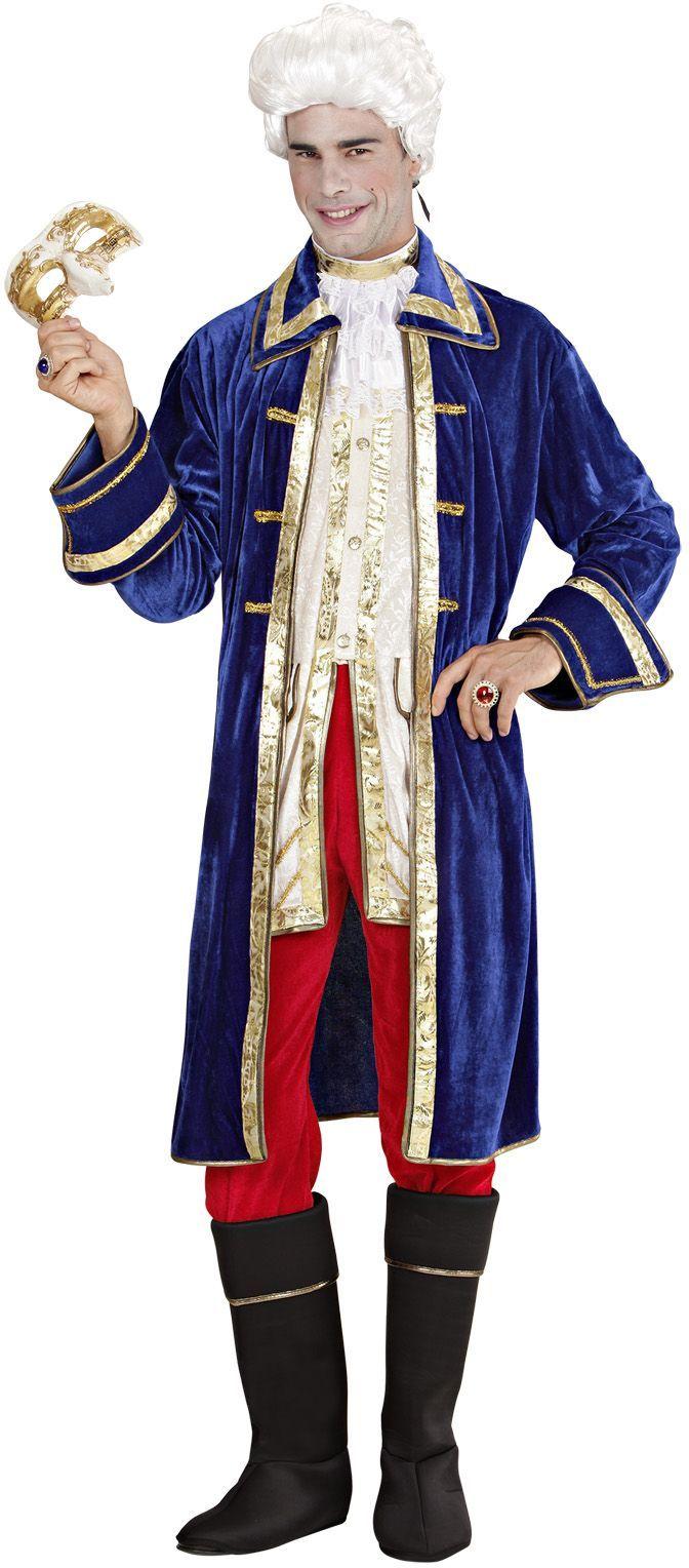 Casanova fluweel kostuum