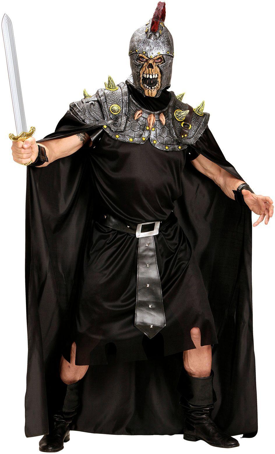 Centurion schedel masker met cape One-size-volwassenen