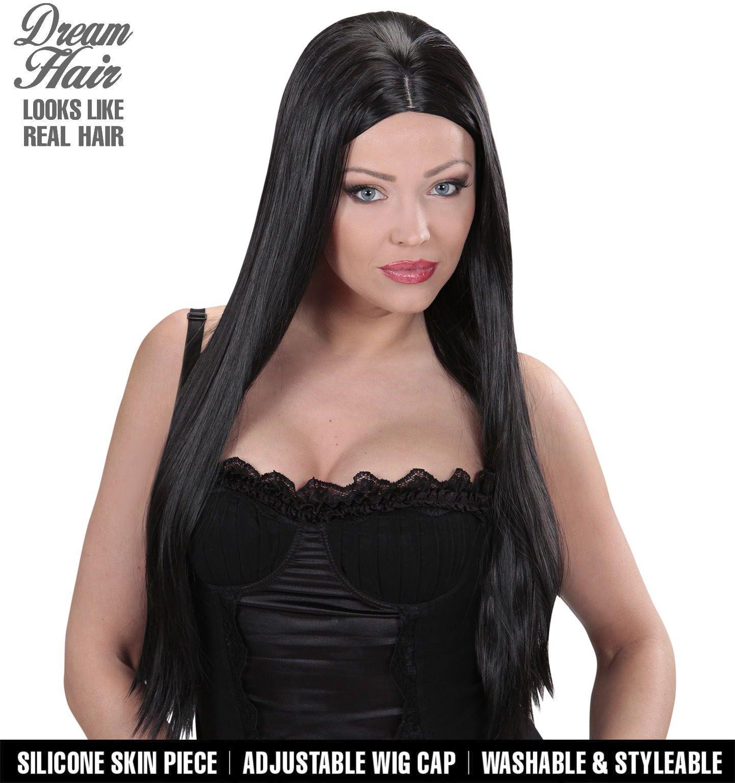 Charlene zwarte pruik
