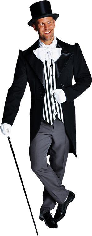 Charles Dickens heren kostuum