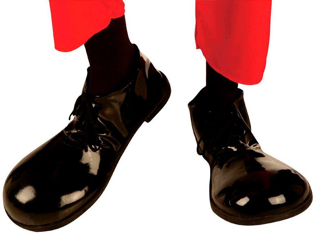 Charlie Chaplin schoenen met rubberen zool