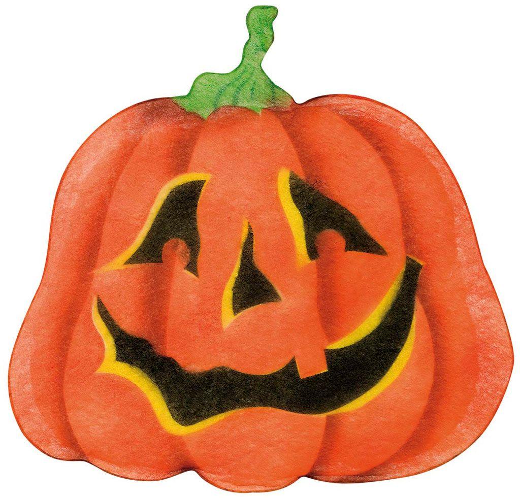 Chiffon halloween pompoen