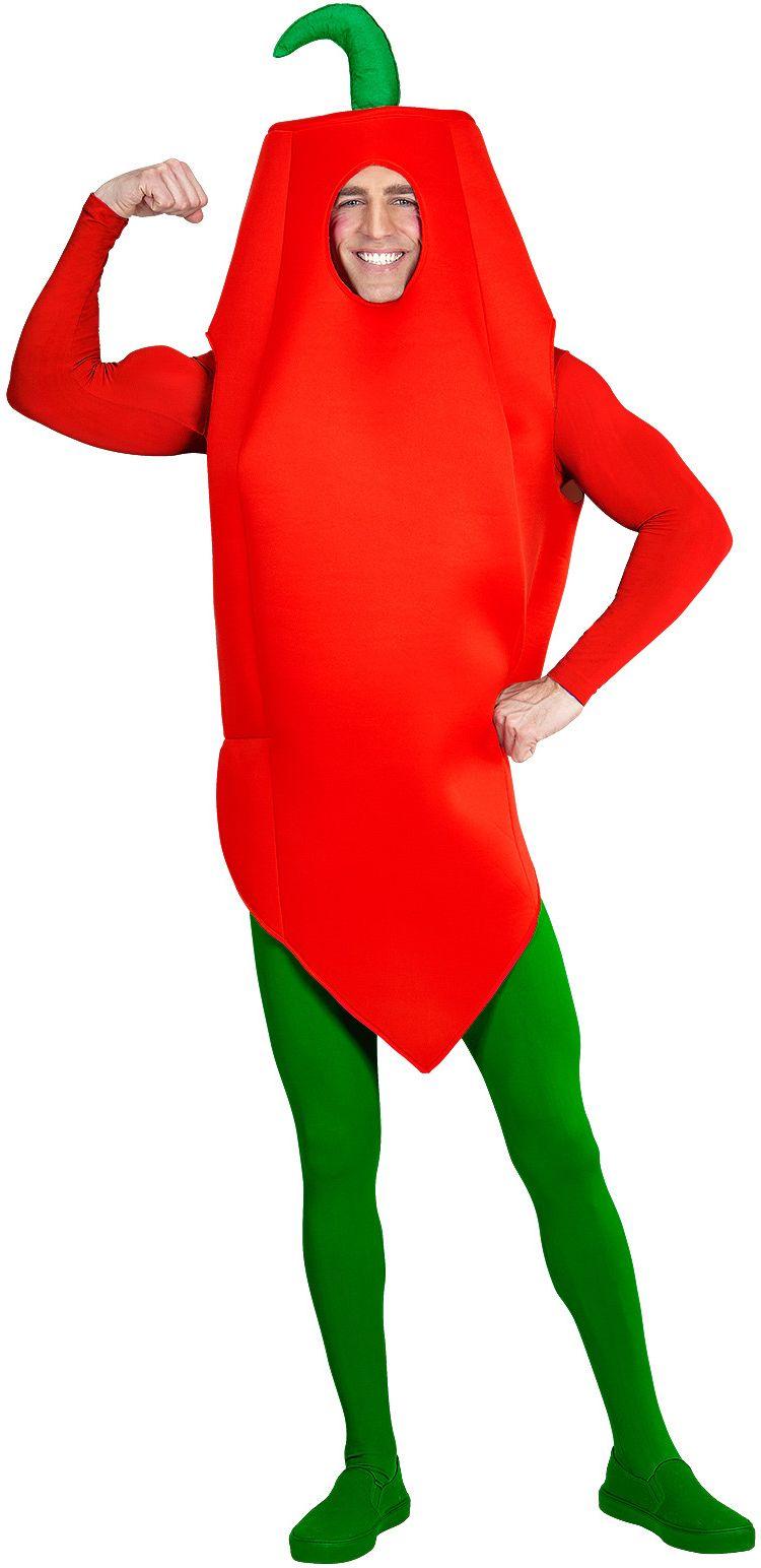 Chilipeper kostuum One-size-volwassenen