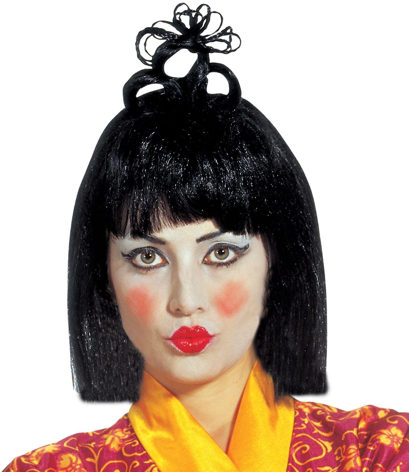 Chinese Geisha pruik