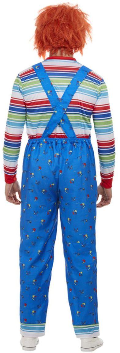 Chucky kostuum mannen