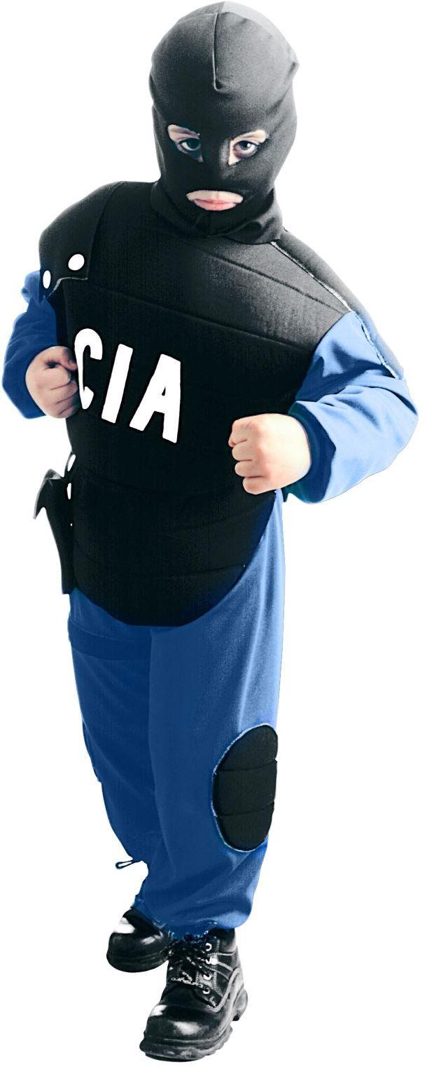 CIA politie kostuum