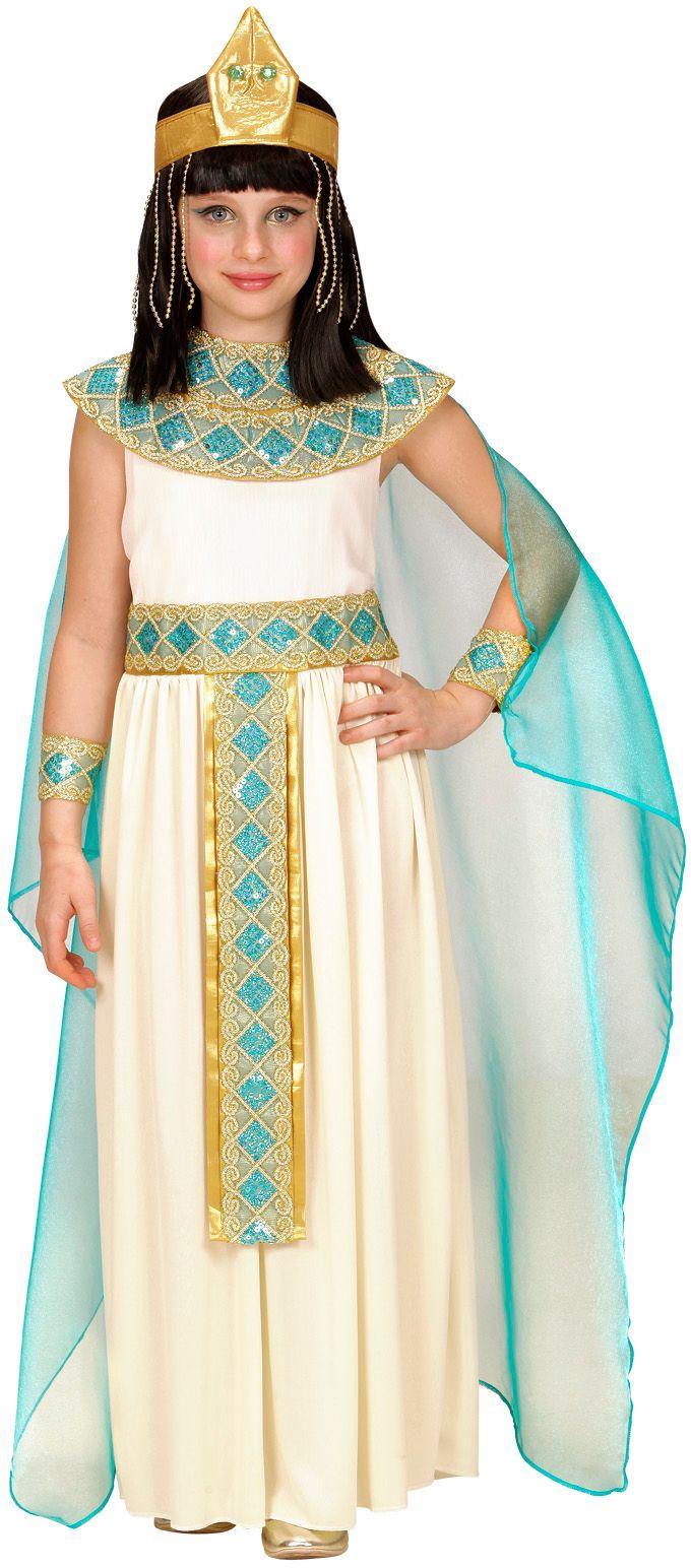 Cleopatra's dochter kostuum wit