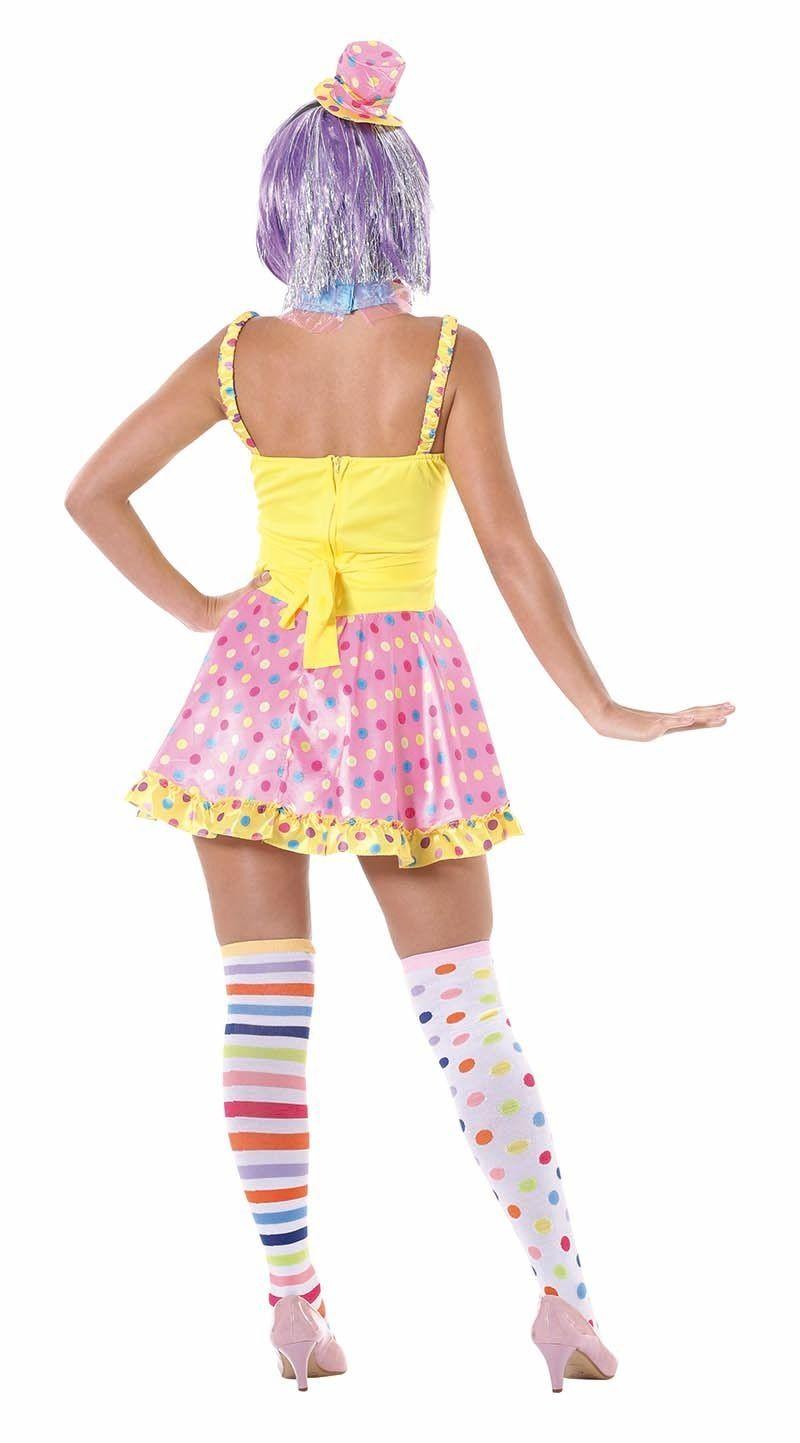 Carnavalskleding Dames Clown.Clown Jurkje Dames Carnavalskleding Nl