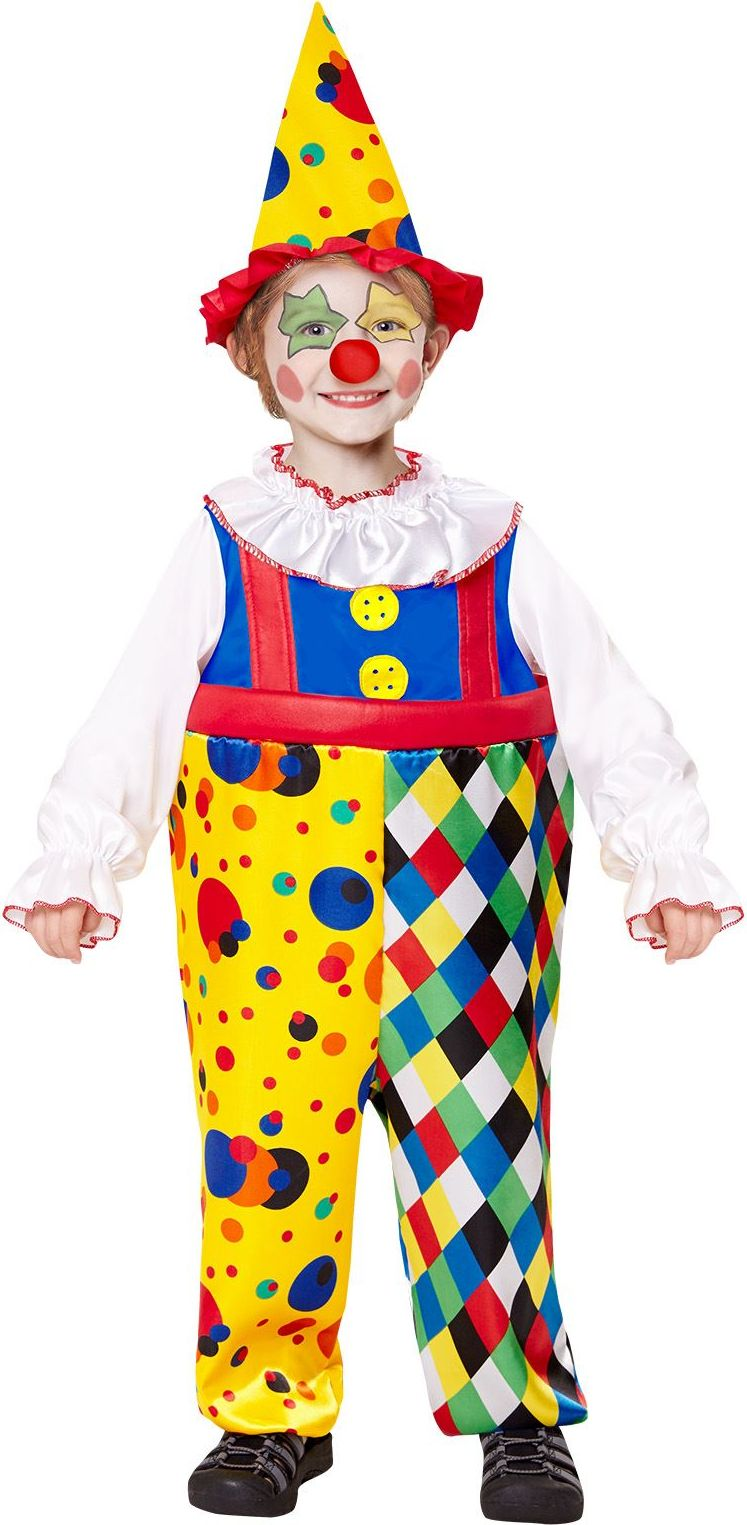 Clown kostuum kind